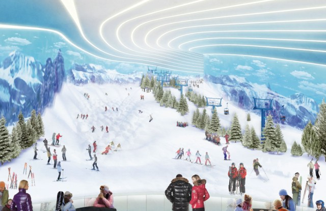 North America's first indoor ski park, Big Snow, is bowing at American Dream.