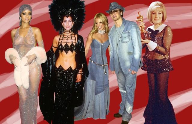 Rihanna, Cher, Britney Spears, Justin Timberlake and Barbra Streisand