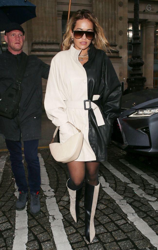 Rita OraRita Ora out and about at Gare Du Nord train station, Paris Fashion Week, France - 01 Mar 2020