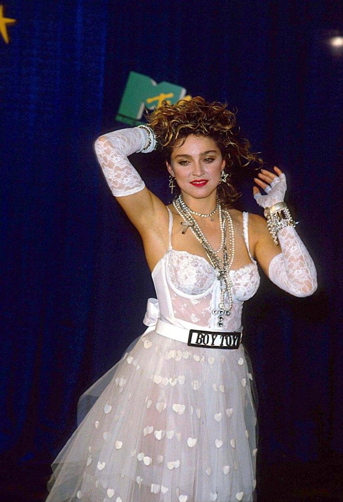 Madonna at the 1984 Mtv Music Video Awards1984 Mtv Music Video Awards