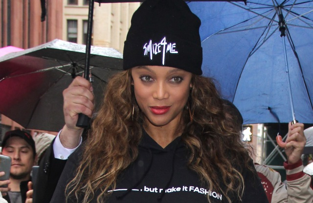 Tyra Banks in New York at the end of February.