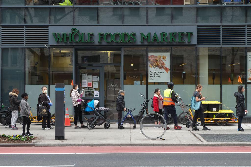 Whole Foods Amazon during coronavirus