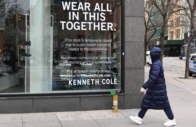 closed Kenneth Cole store East Village new york