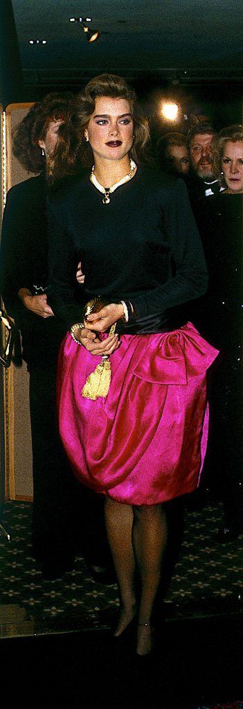 Washington, DC. USA, October, 1987Brooke Shields at Democratic party fundraiser in Washington DC.Brooke Shields, Washington DC, USA - - 1987