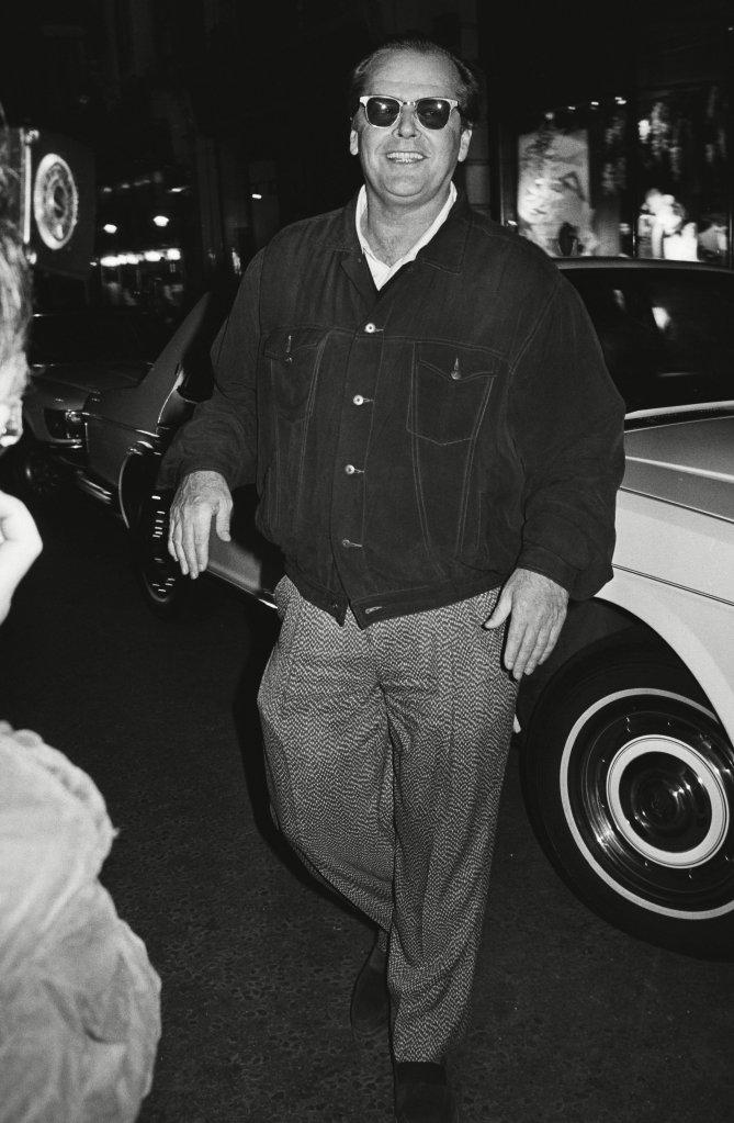 Jack NicholsonTramp Nightclub London, UK - 1 Jan 1980