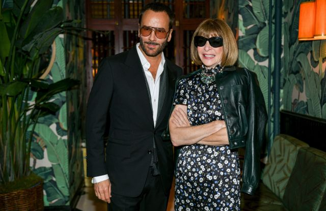 Tom Ford and Anna WintourTom Ford and CFDA NYFW Dinner, New York Fashion Week, USA - 06 Sep 2019