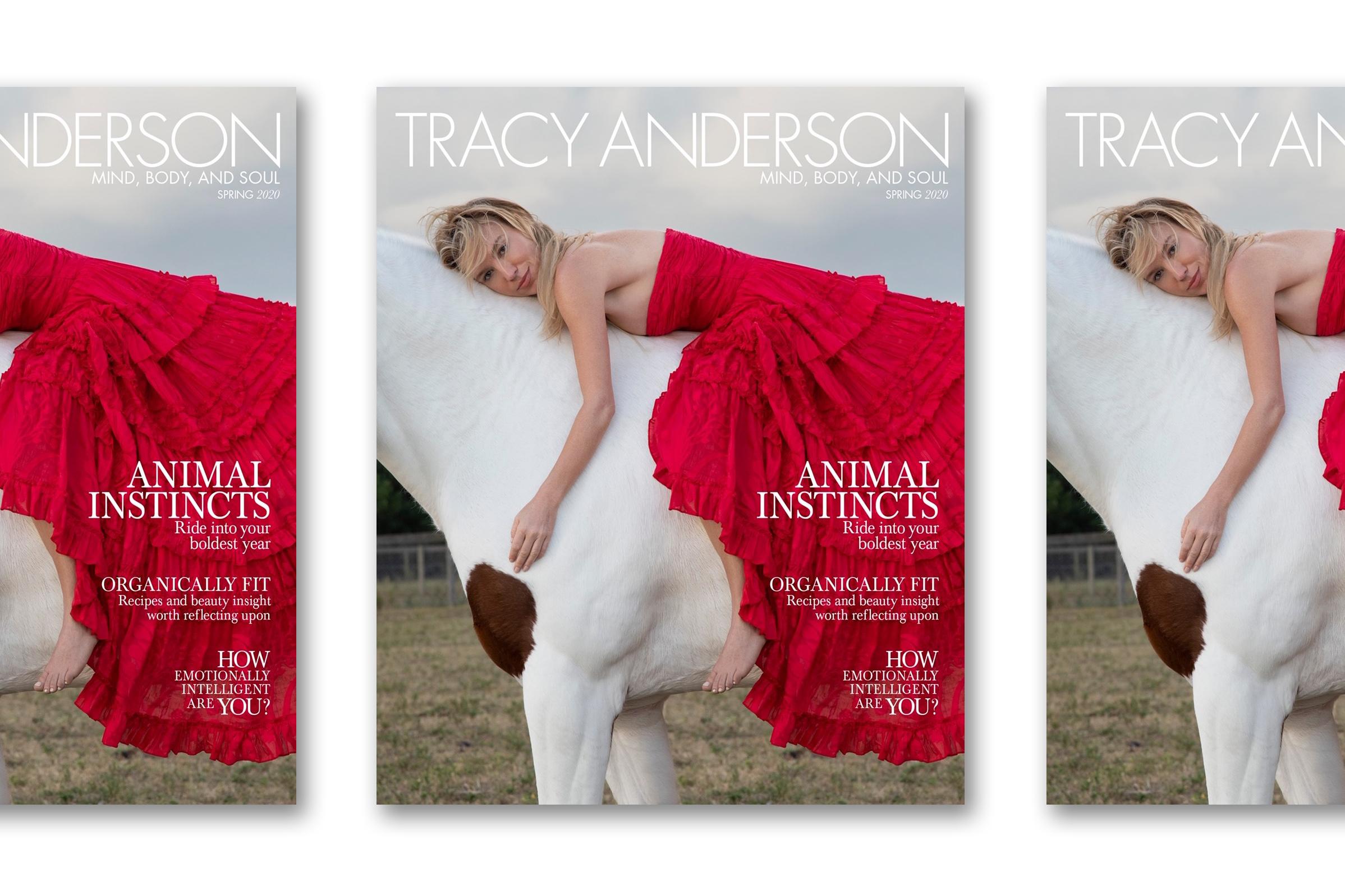 Tracy Anderson's new magazine