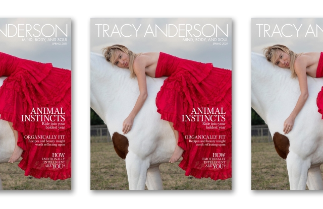 Tracy Anderson's new magazine