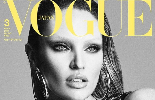 Candice Swanepoel on Vogue Japan.