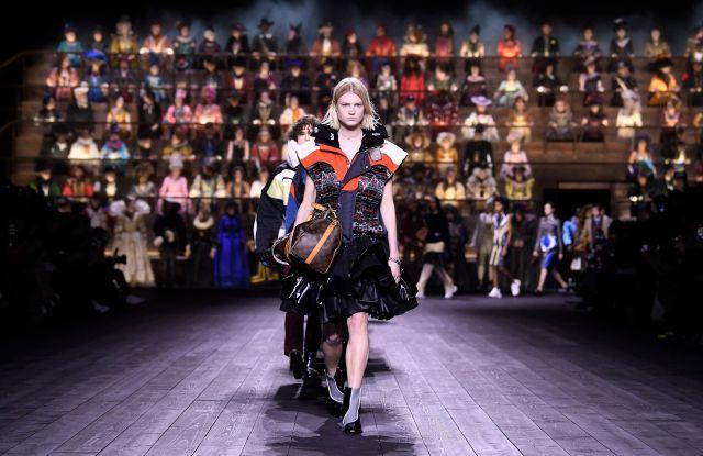 Models on the catwalkLouis Vuitton show, Runway, Fall Winter 2020, Paris Fashion Week, France - 03 Mar 2020