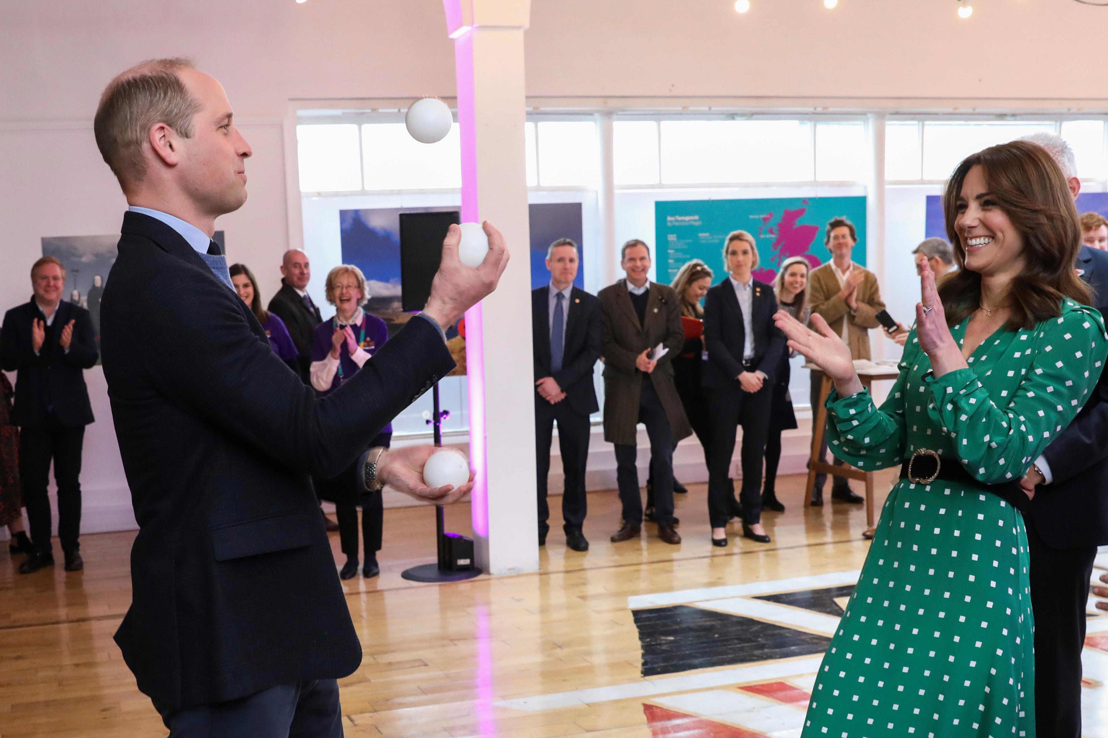The Duke and Duchess of Cambridge Embark on Royal Tour of Ireland 2020