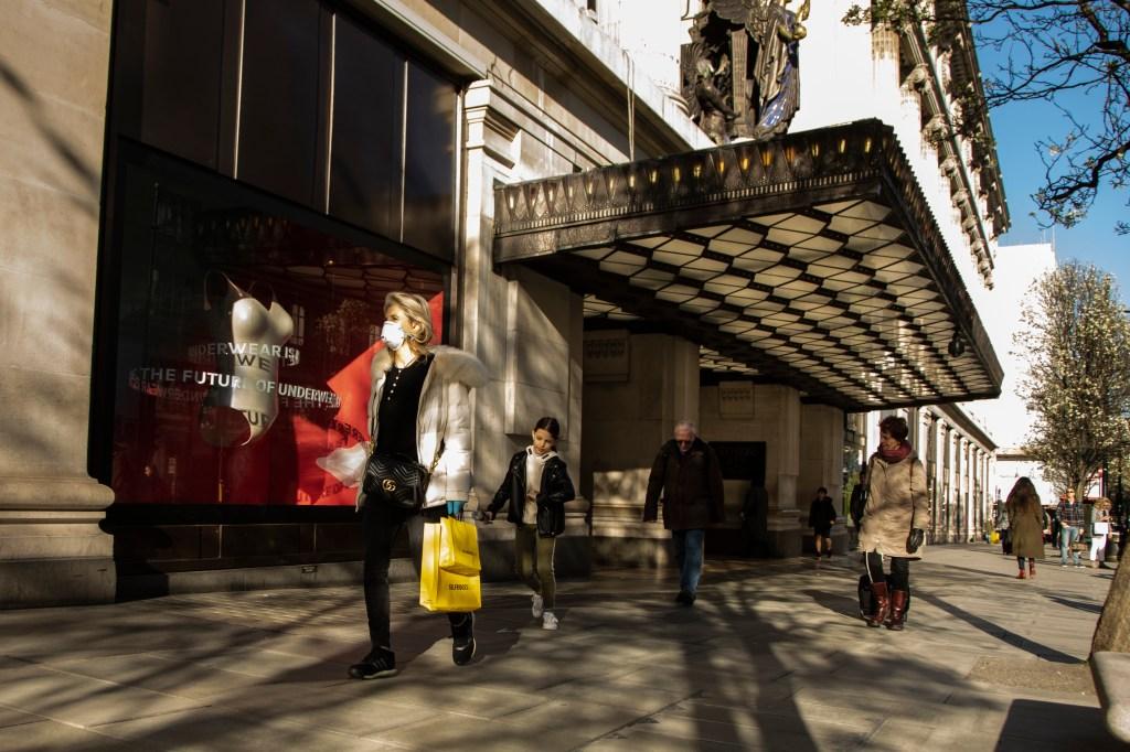 Coronavirus Outbreak: London Retail Remains Open