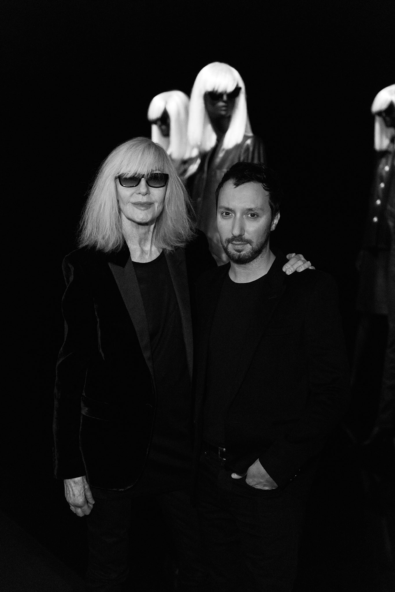 Betty Catroux and Anthony Vaccarello