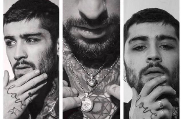 Zayn Malik Models in Martyre Jewelry Campaign