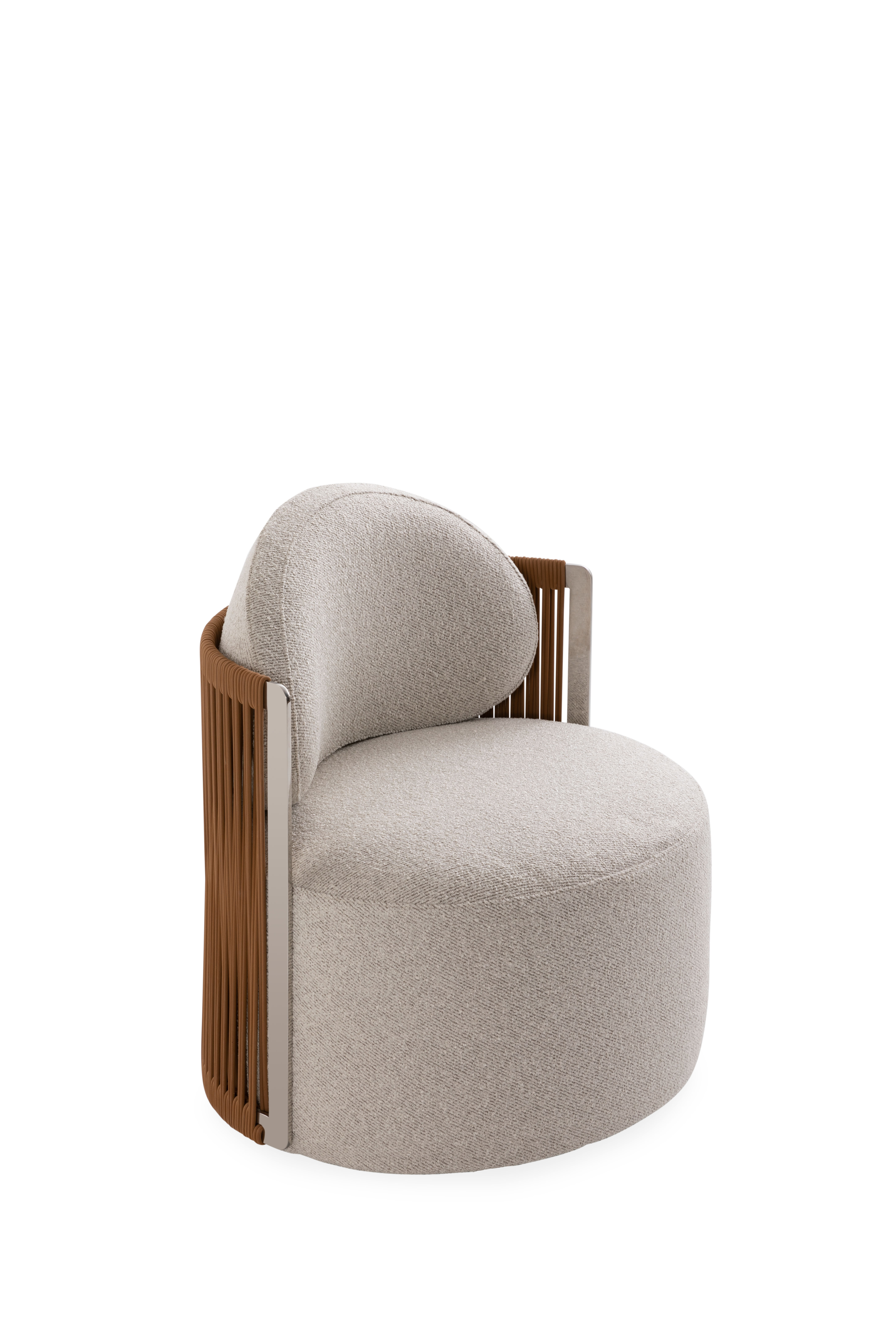 Fendi Casa Thea outdoor armchair.