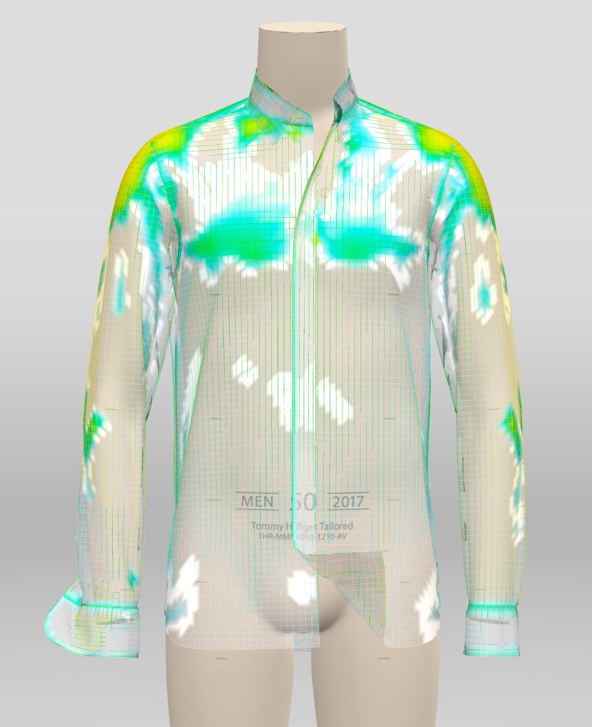 Tommy Hilfiger: Pressure Map on Garment