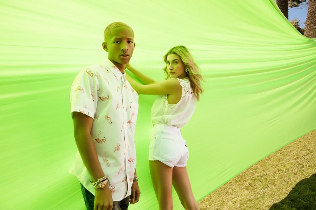 Jaden Smith and Hailey Biever for Levi's