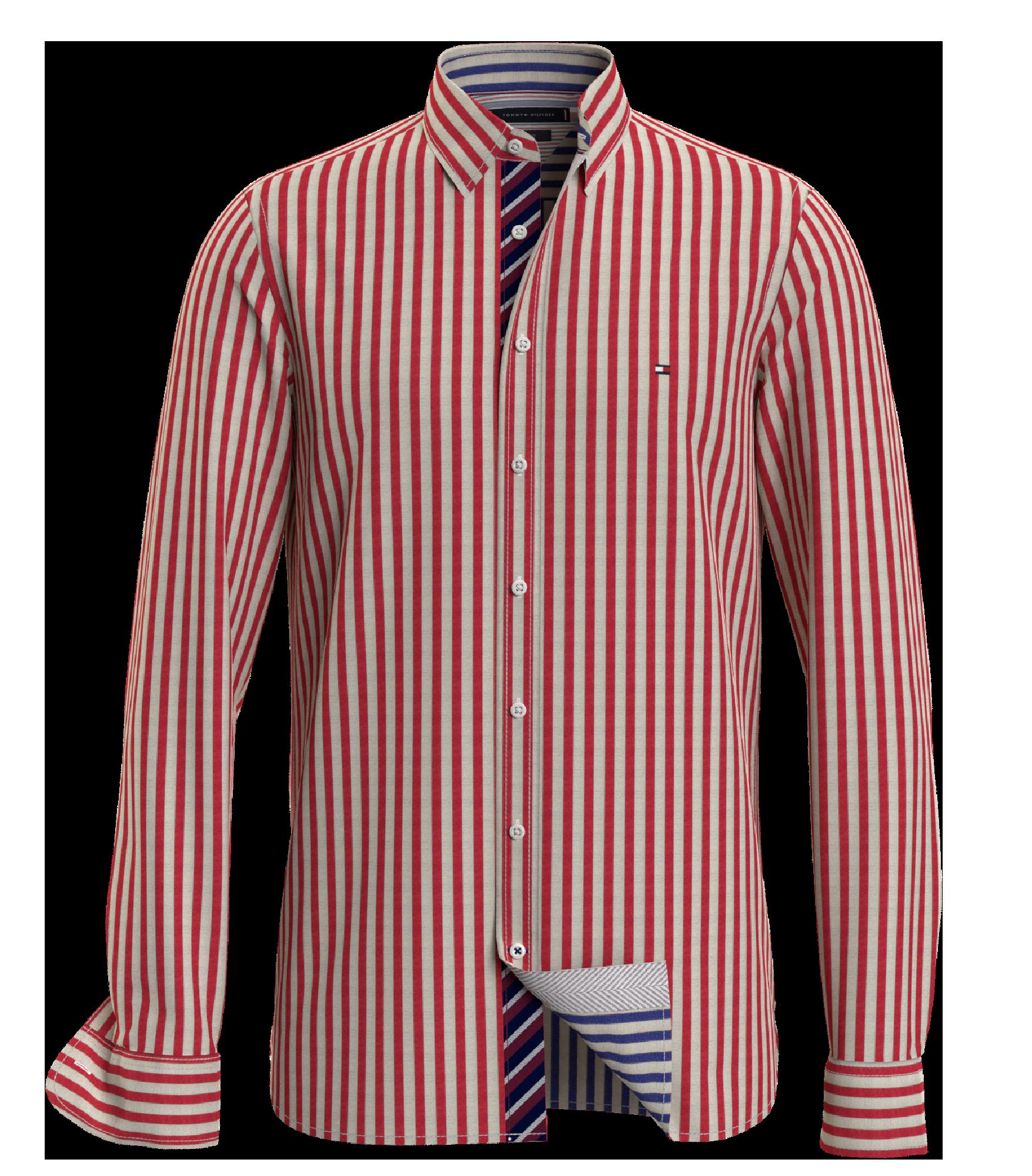 A 3D Render of a Tommy Hilfiger Fall 2020 men's shirt