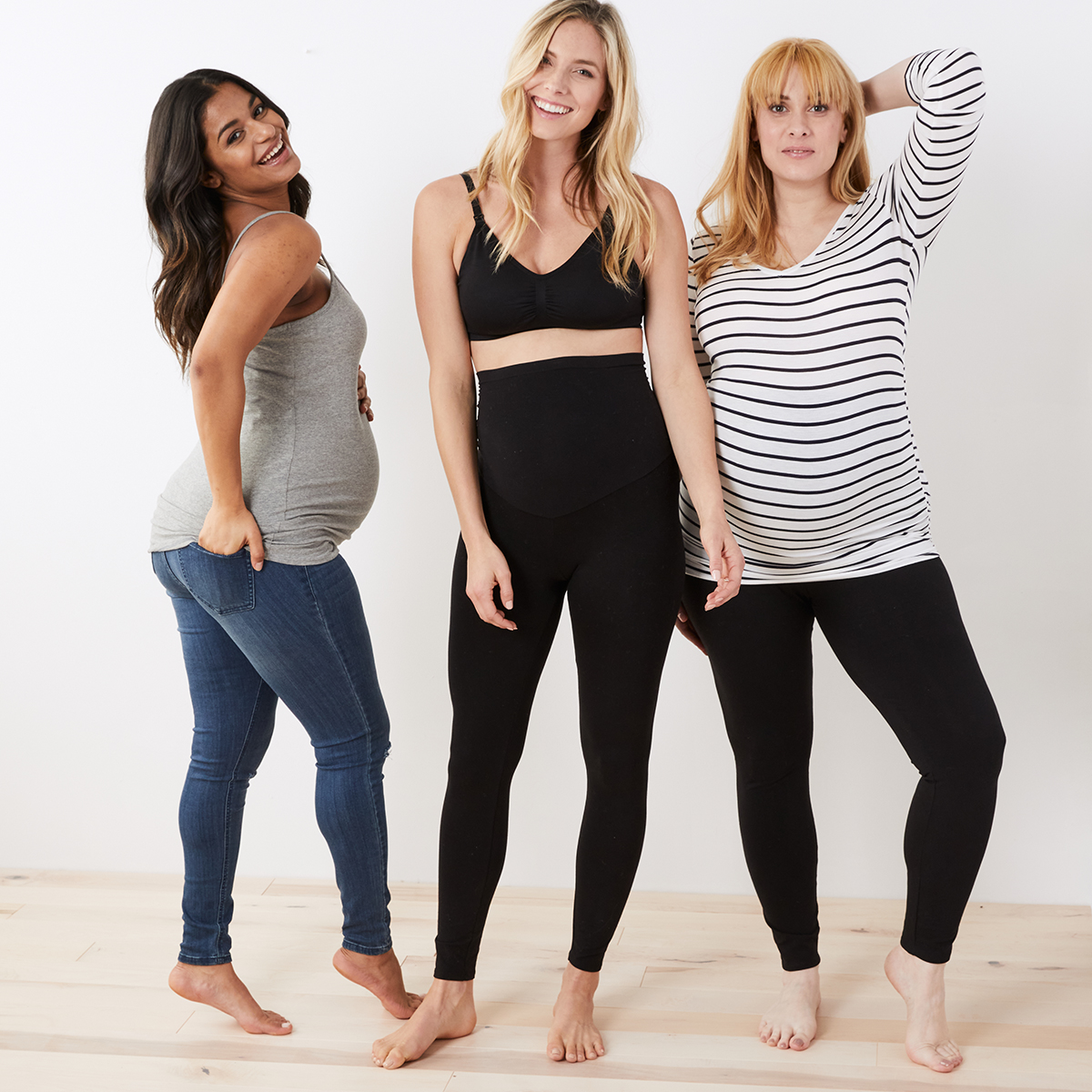 The Motherhood Maternity styles.