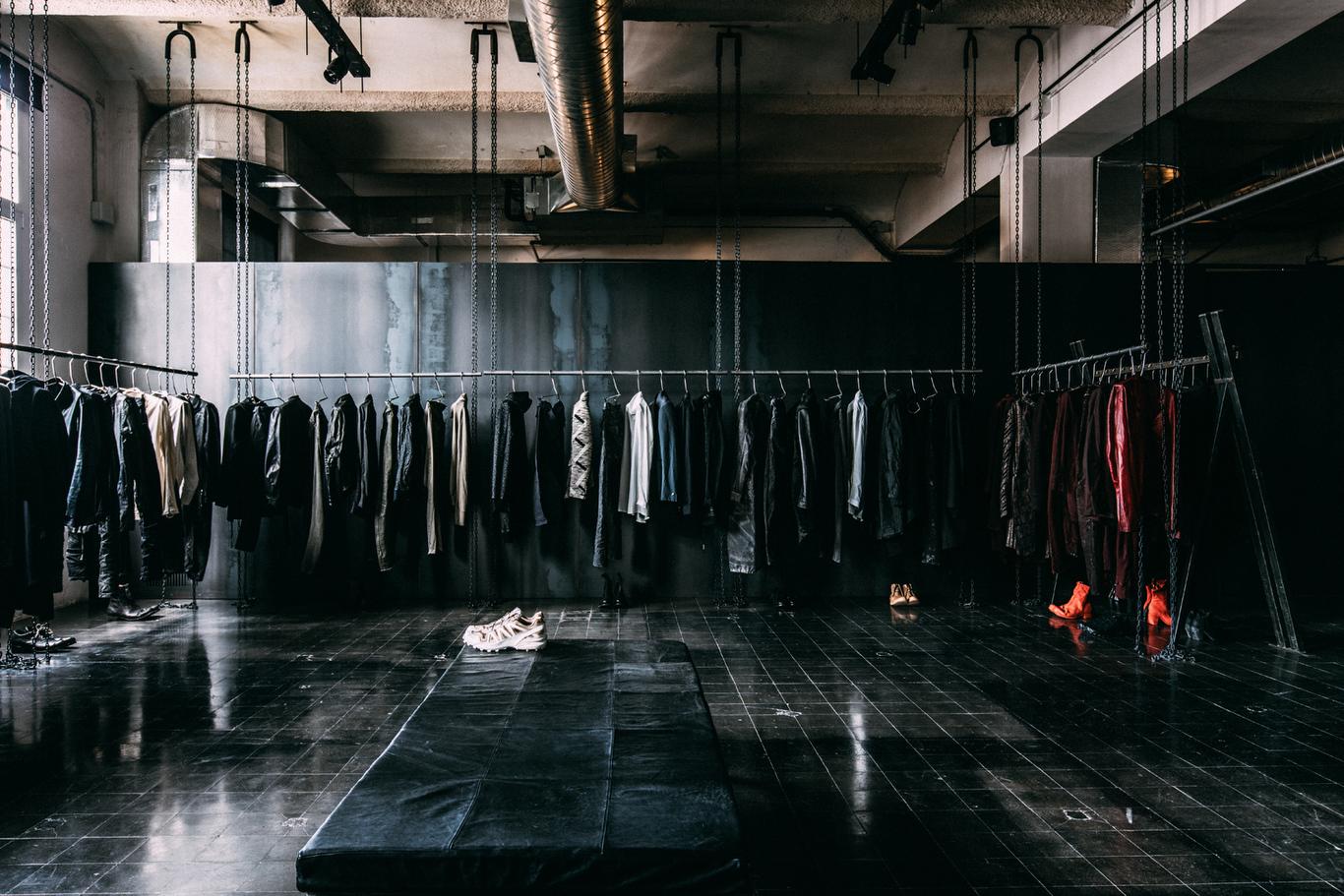 Boris Bidjan Saberi store located in their HQ in Barcelona