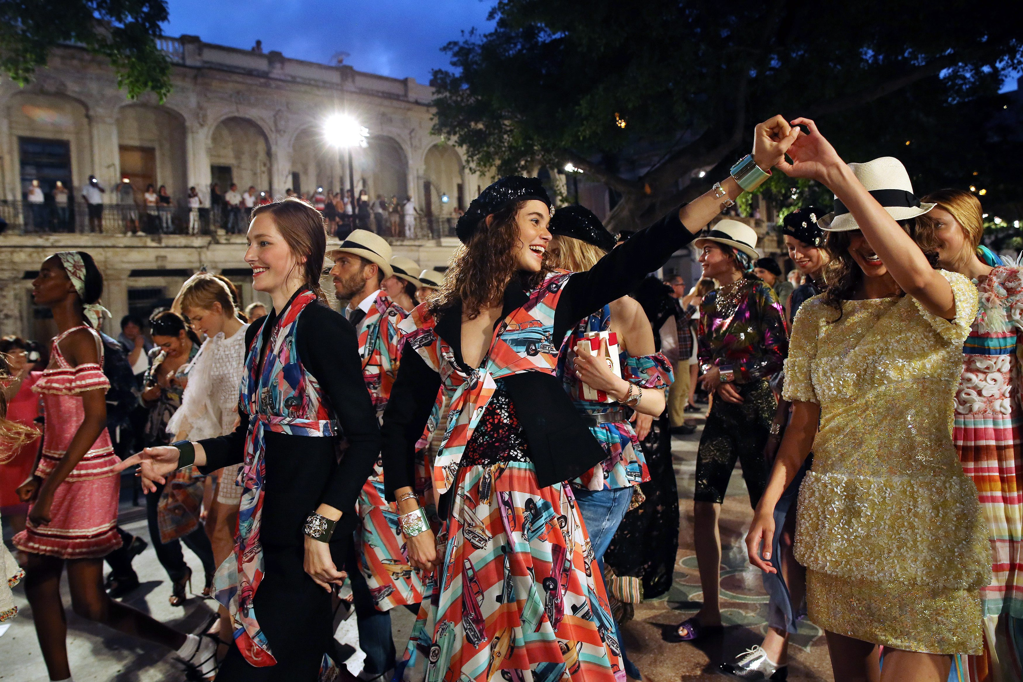 Chanel made the bold call to show its resort 2017 collection in Havana, Cuba.