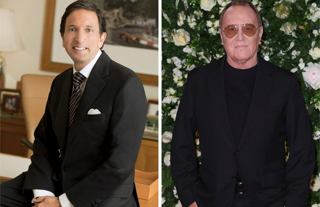 John Idol (left) and Michael Kors.