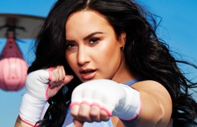 Demi Lovato in her Fabletics campaign.