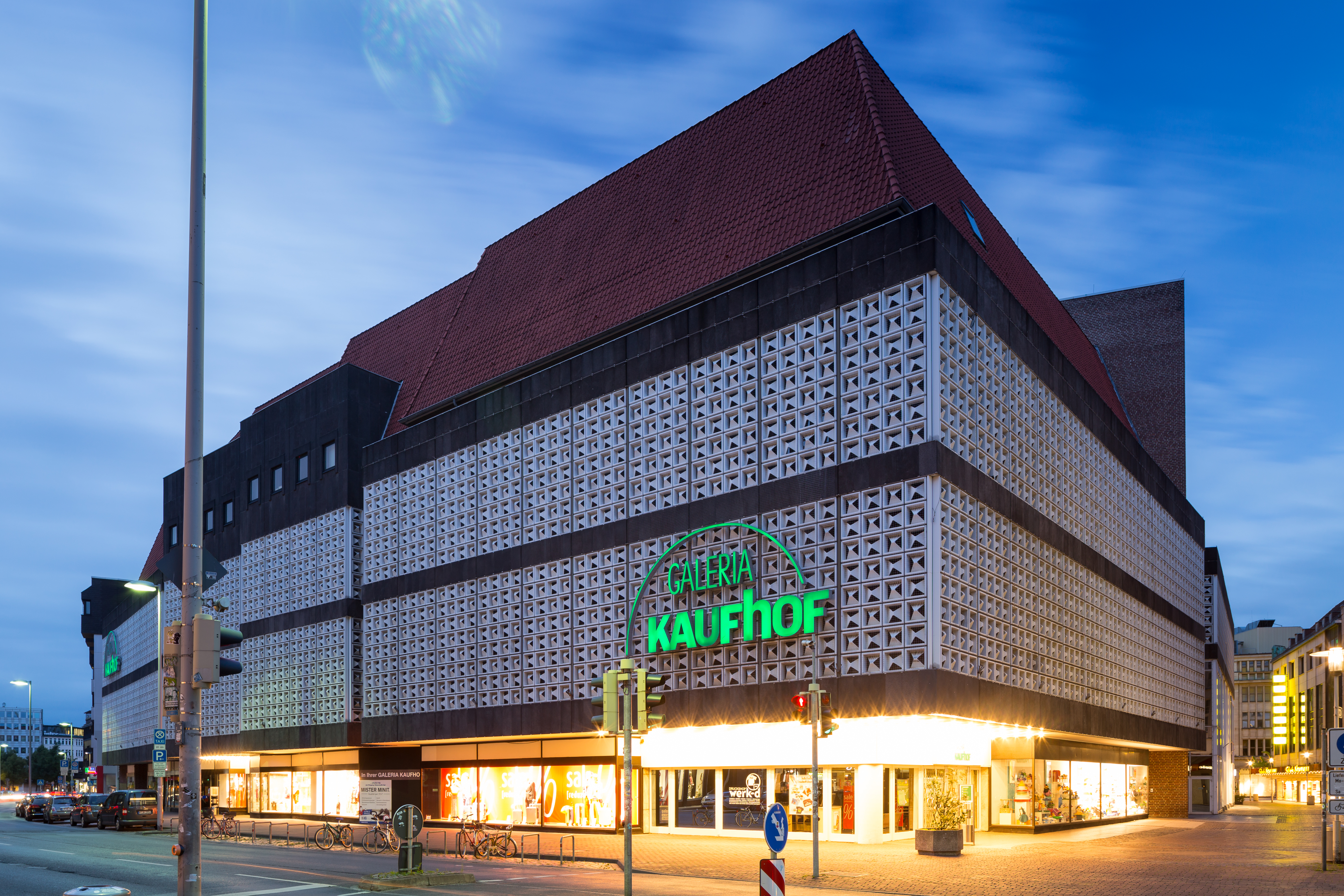 A Kaufhof department store in Hannover, Germany.