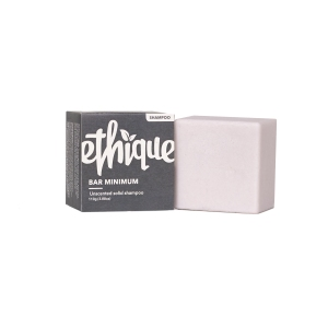 Ethique sustainable biodegradable shampoo bar unscented