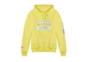 Katla's organic cotton hoodie.