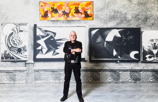 Germano Celant at Fondazione Prada.