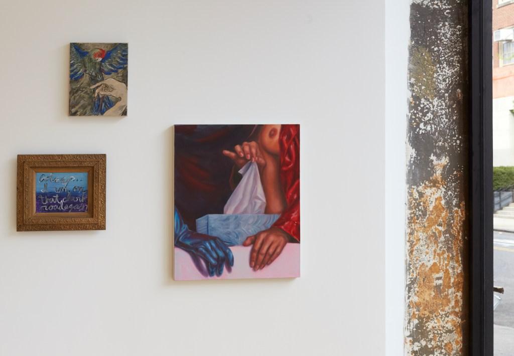 "Installation view of ""Under Glass."""