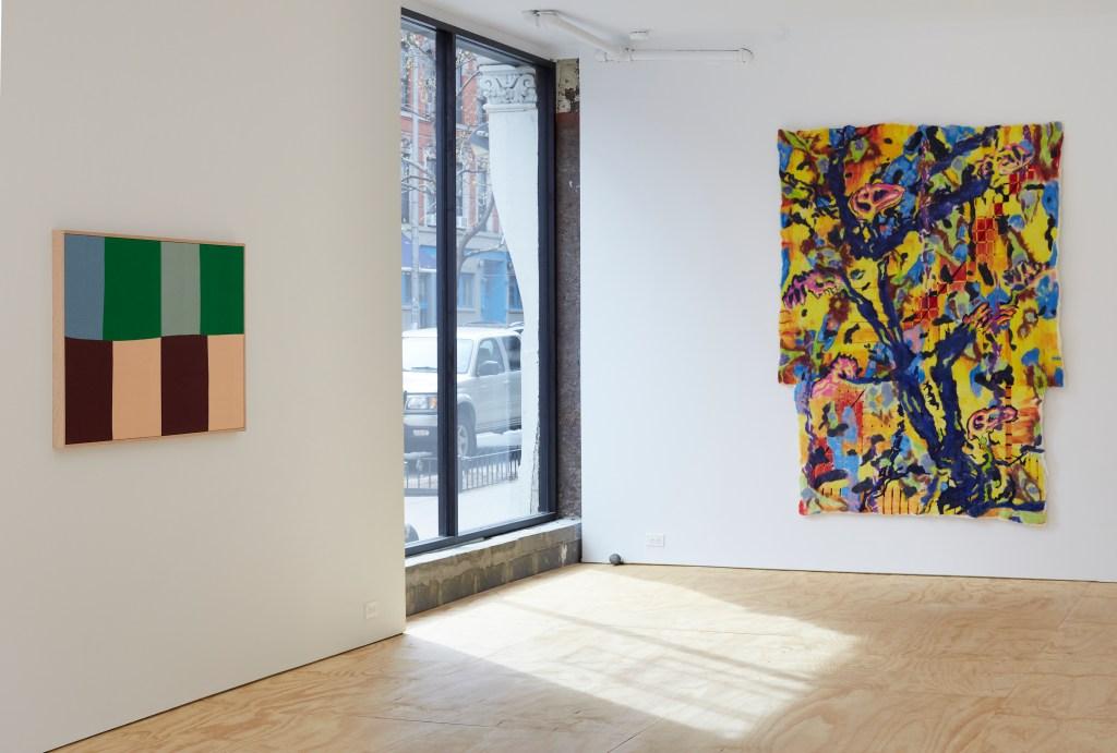 "Inside ""Under Glass"" at Half Gallery."