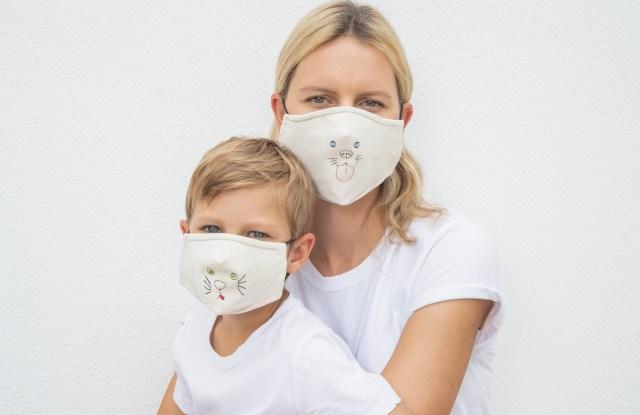 Karolina Kurkova Launches Masks for All Initiative Amid Coronavirus Pandemic
