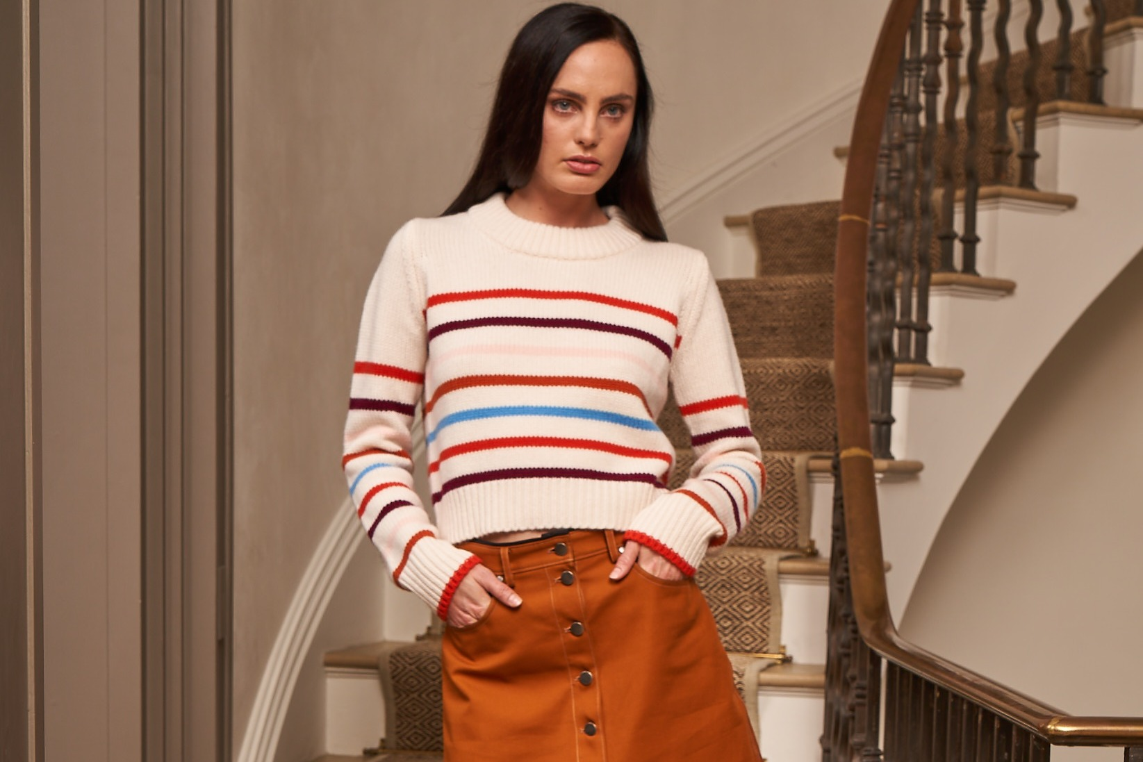 A fall look from La Ligne