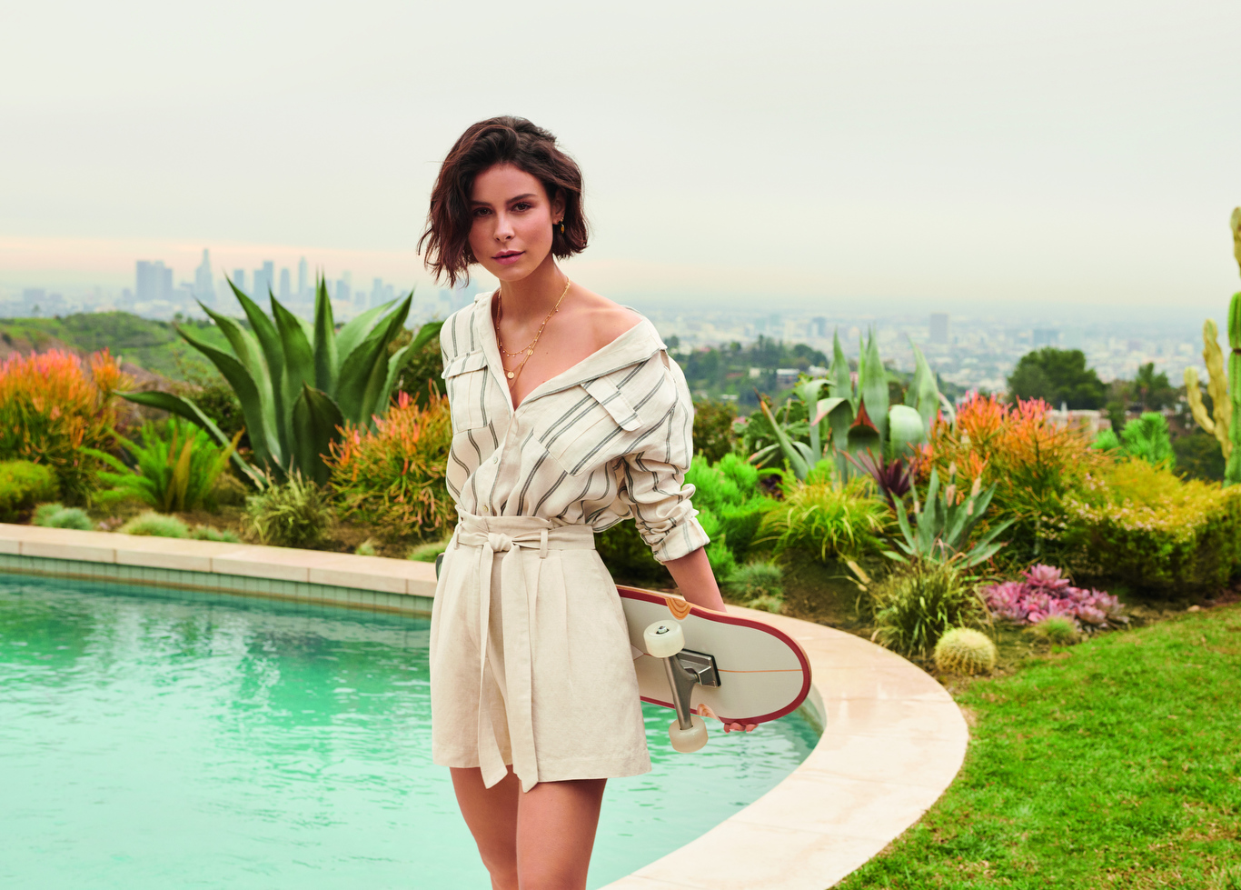 H&M campaign featuring one of Germany's biggest pop-stars, Lena Meyer-Landrut