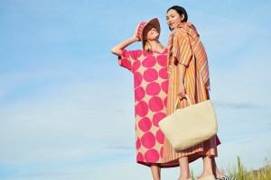 Looks from the Marimekko-Uniqlo collaboration.