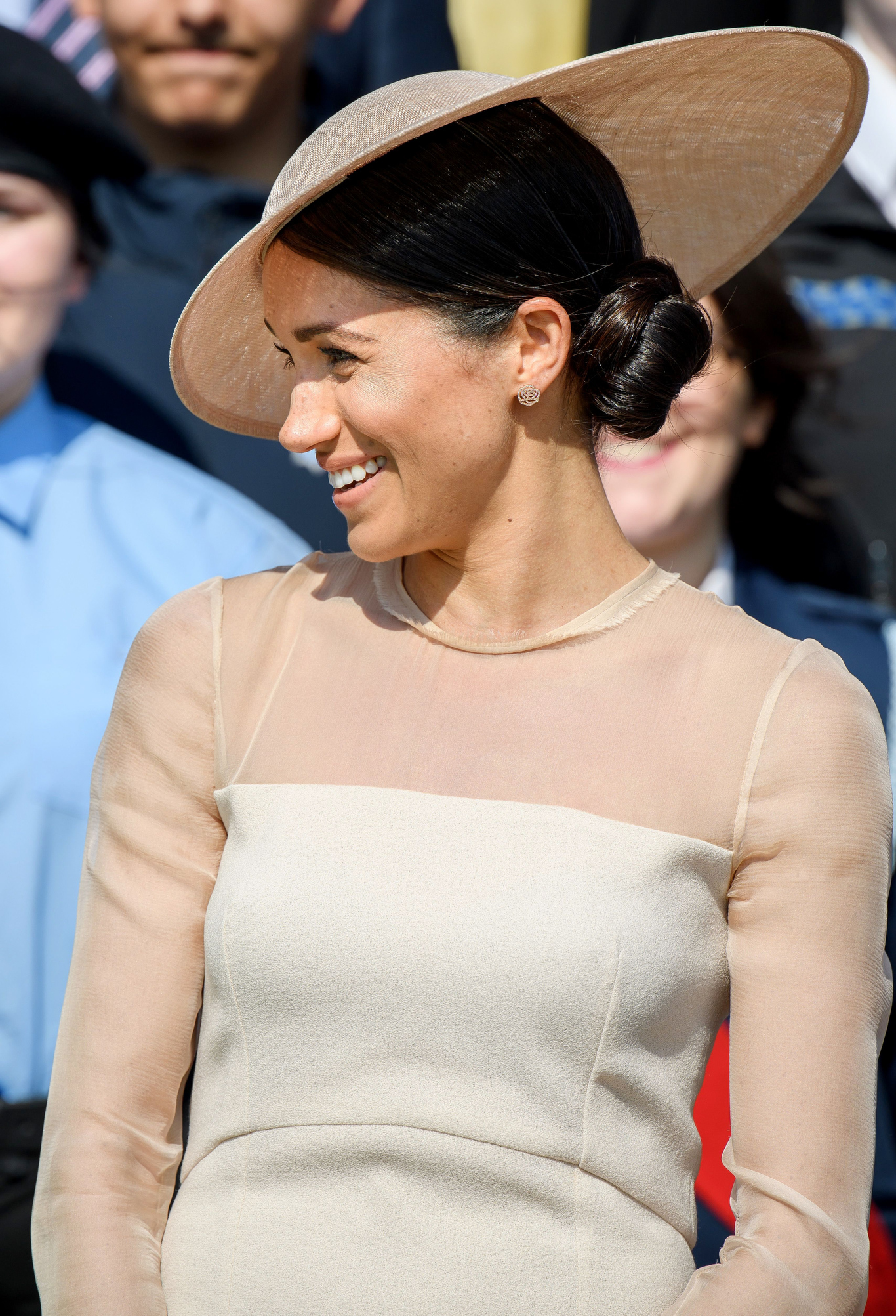 Meghan Markle at the Prince of Wales' 70th birthday patronage celebration