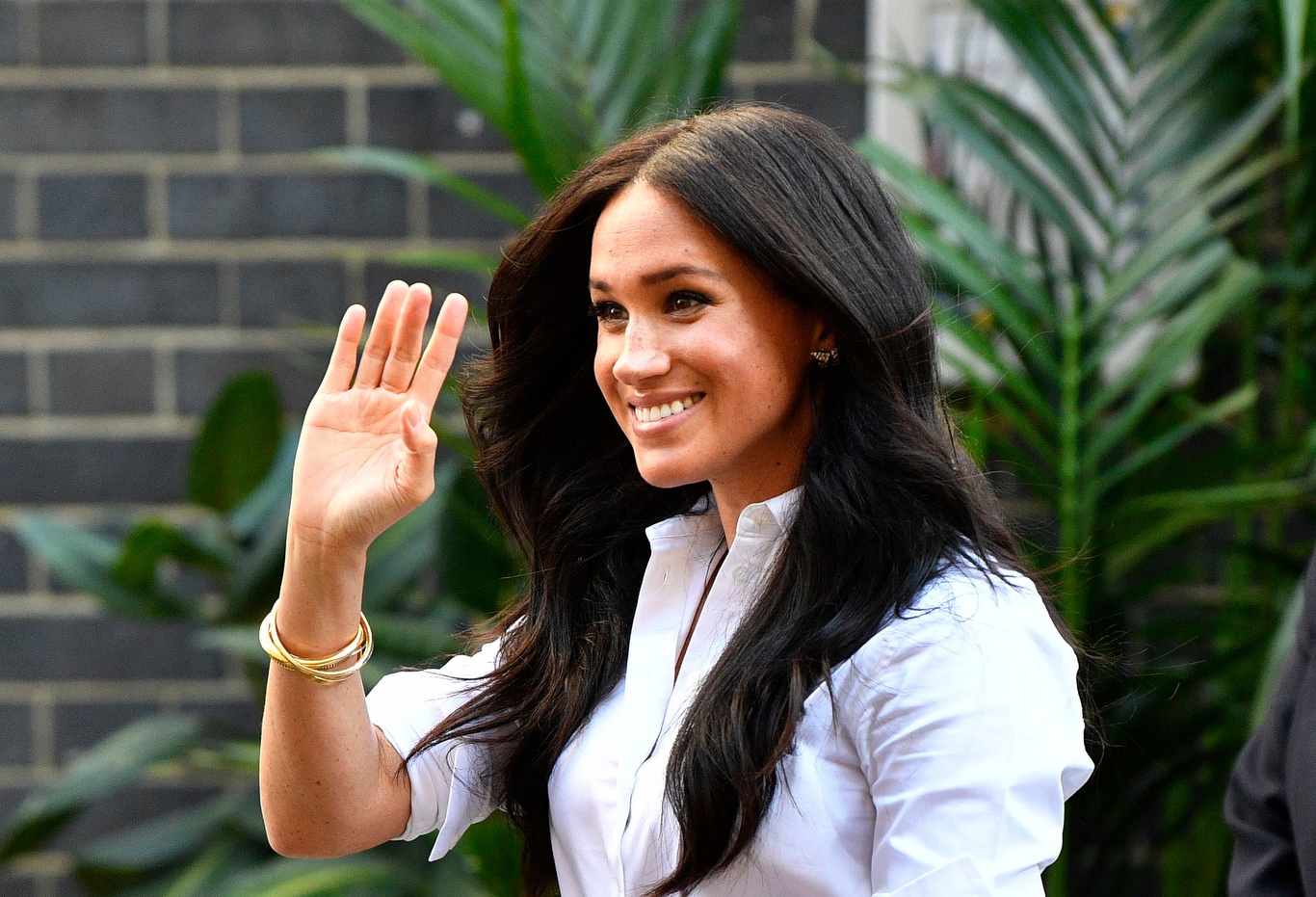 Meghan at the launch of Smart Works