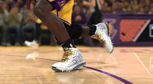 Nike's LeBron 17 sneaker for NBA 2K.