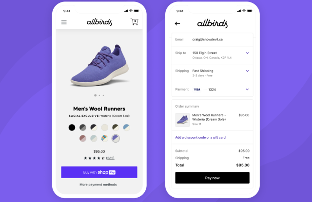 Shopify's new Shop mobile shopping assistant