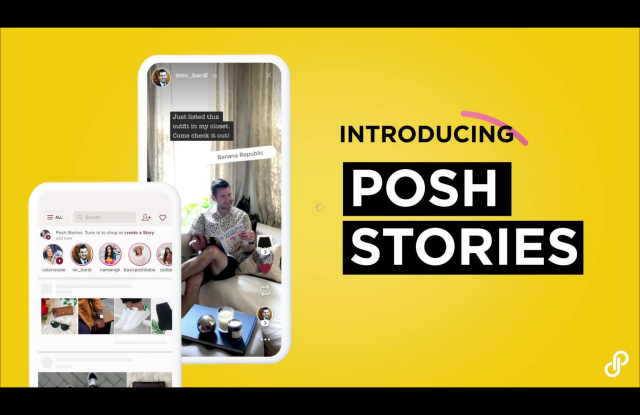 Poshmark introduces Posh Stories.