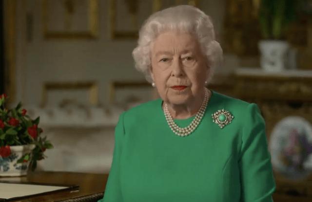 Queen Elizabeth II addresses the nation regarding the Coronavirus outbreak.