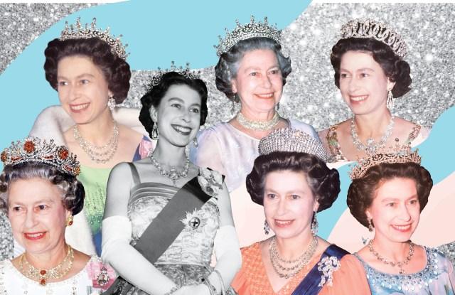 queen Elizabeth's tiaras: photos