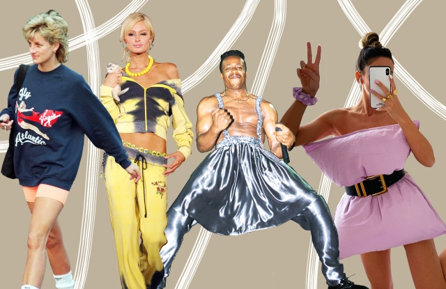 Princess Diana, Paris Hilton, MC Hammer, and a look from The Pillow Challenge.