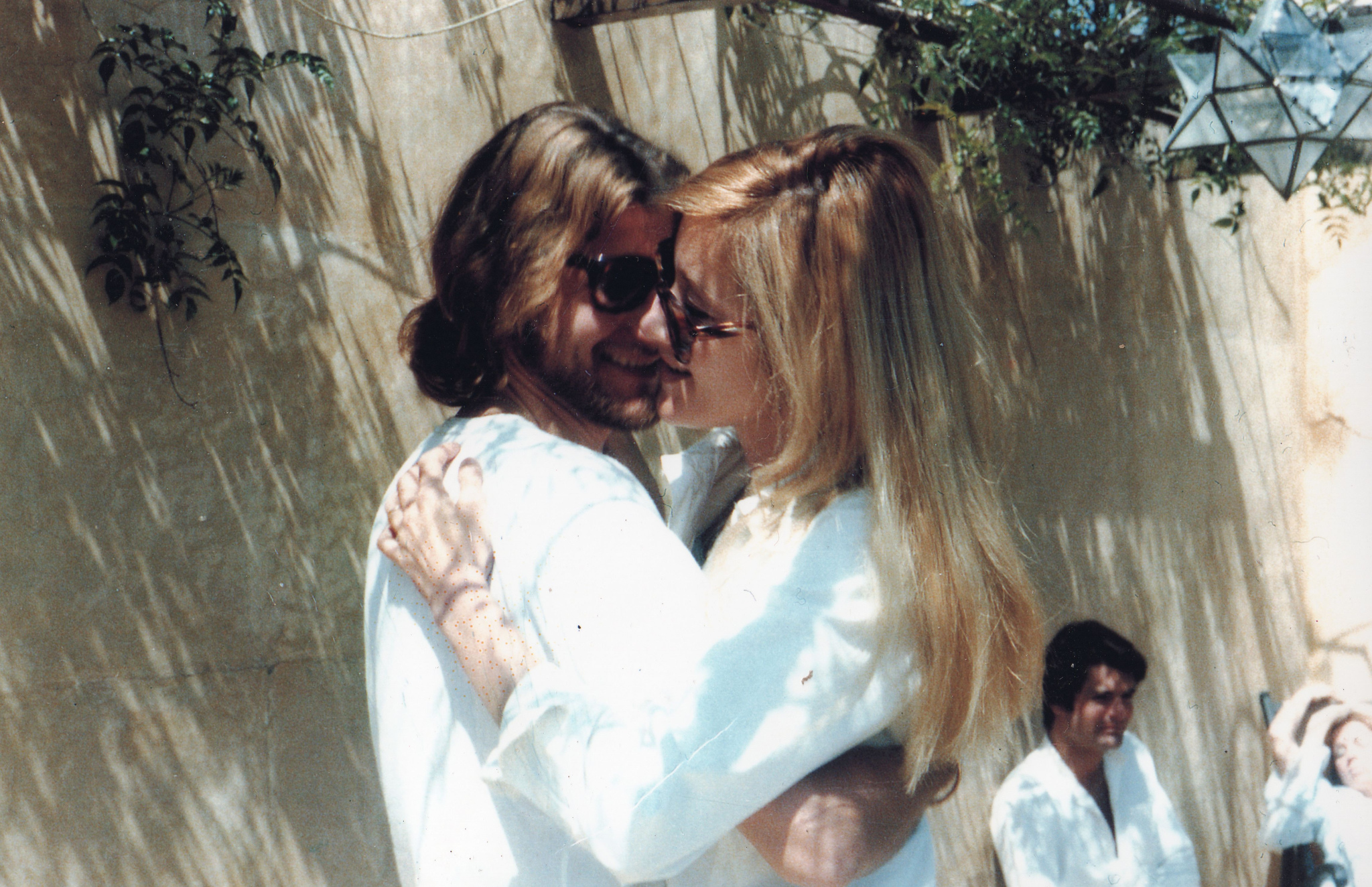 Yves Saint Laurent and Betty Catroux in Marrakech