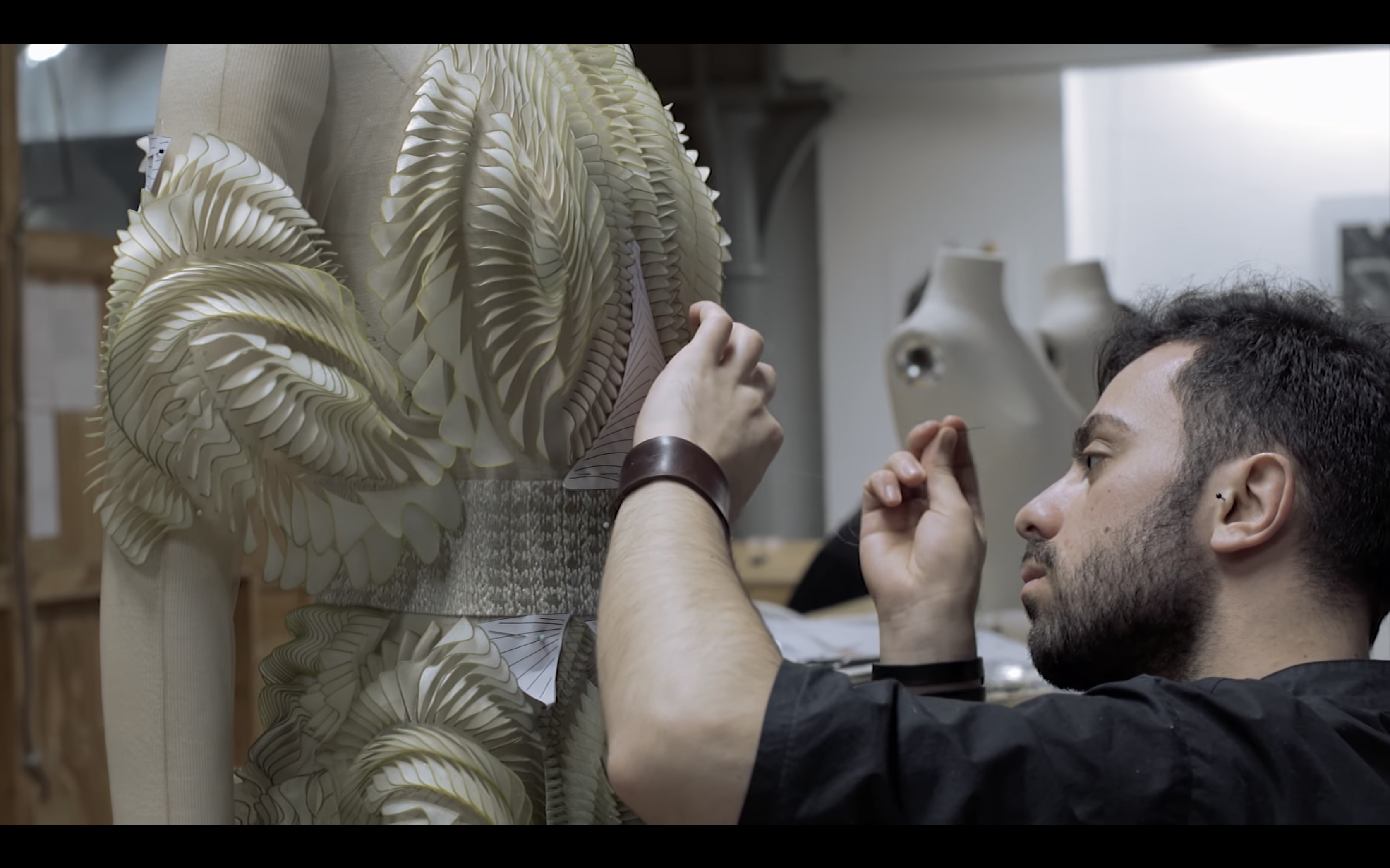A still from the 'Ludi Naturae' process video filmed by Ryan McDaniels