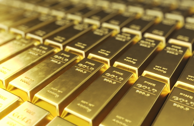 Gold prices are spiking