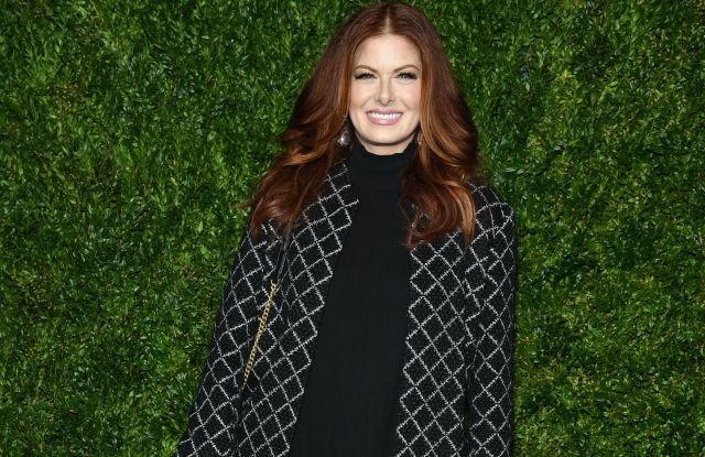 Debra Messing14th Annual Tribeca Film Festival Artists Dinner hosted by Chanel, Arrivals, Balthazar restaurant, New York, USA - 29 Apr 2019Wearing Chanel