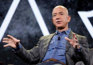 Amazon CEO Jeff Bezos speaks at the the Amazon re:MARS convention, in Las VegasAmazon Bezos, Las Vegas, USA - 06 Jun 2019